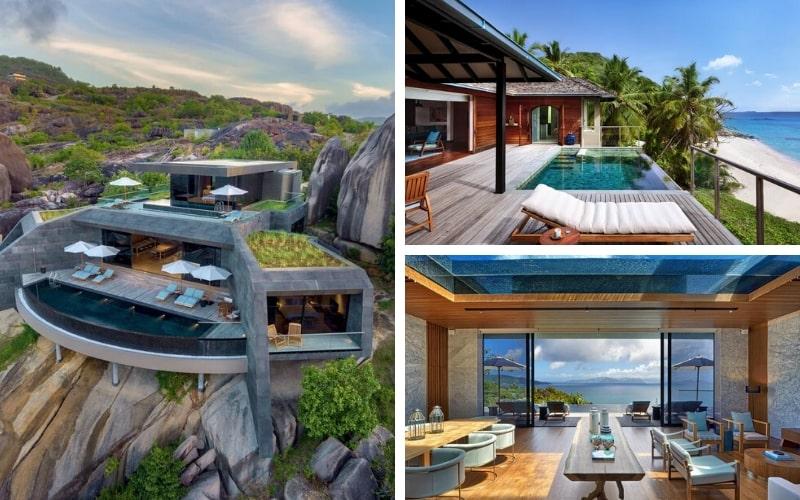 Six Senses Zil Pasyon, Seychelles-min