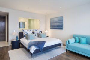 Villa Alegria - Bedroom blue 2-min