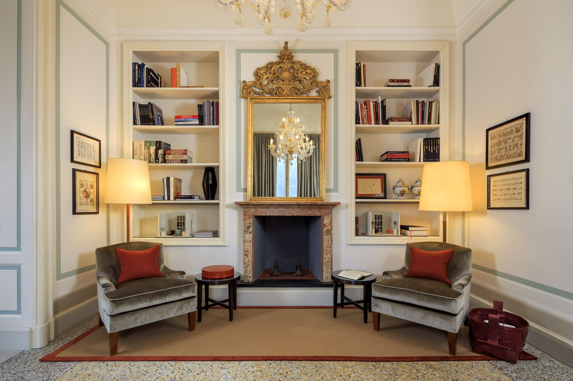 Villa Cima - Mezzanine floor - Sitting room (2)