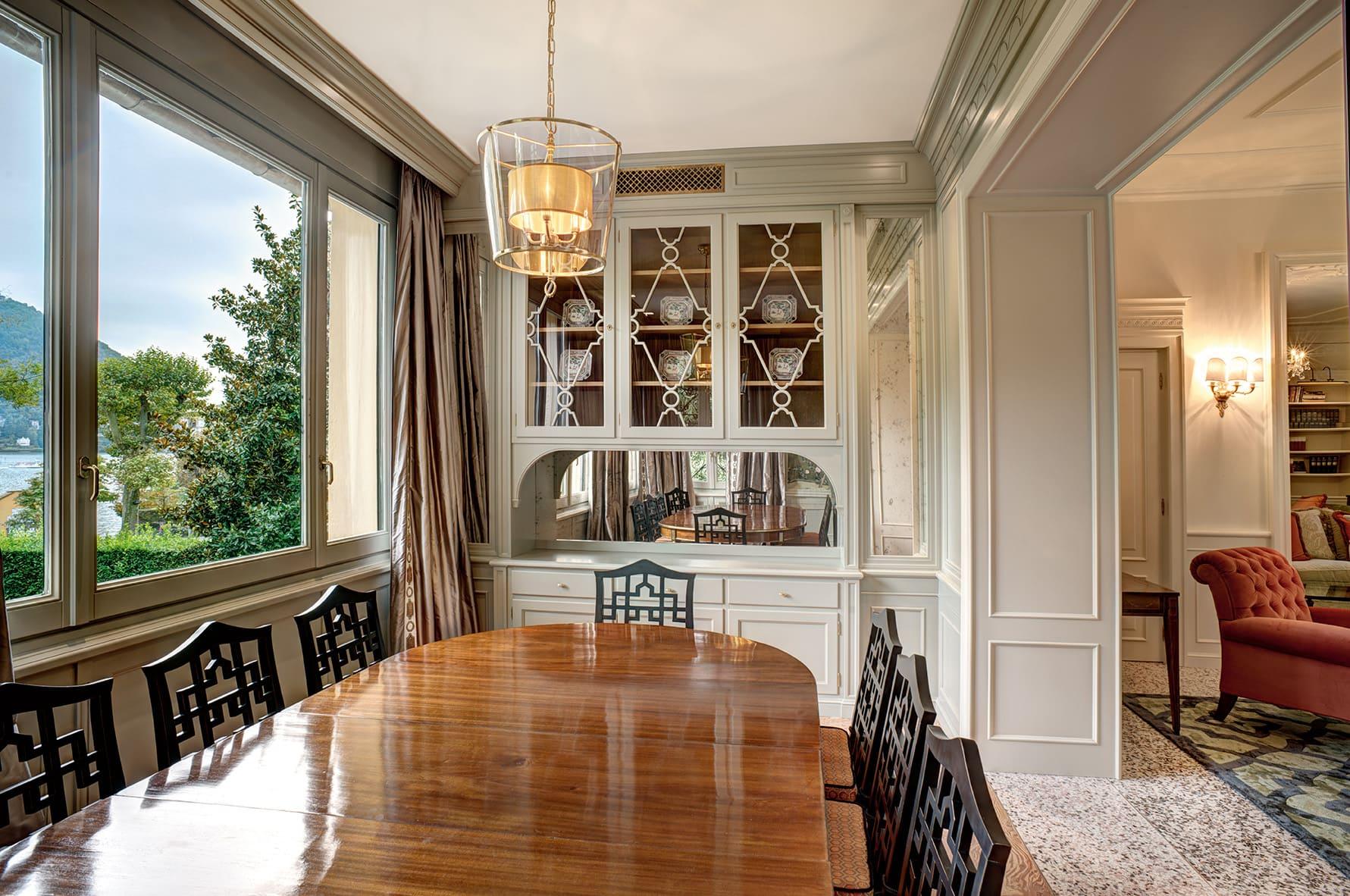 Villa Garrovo, Dining room