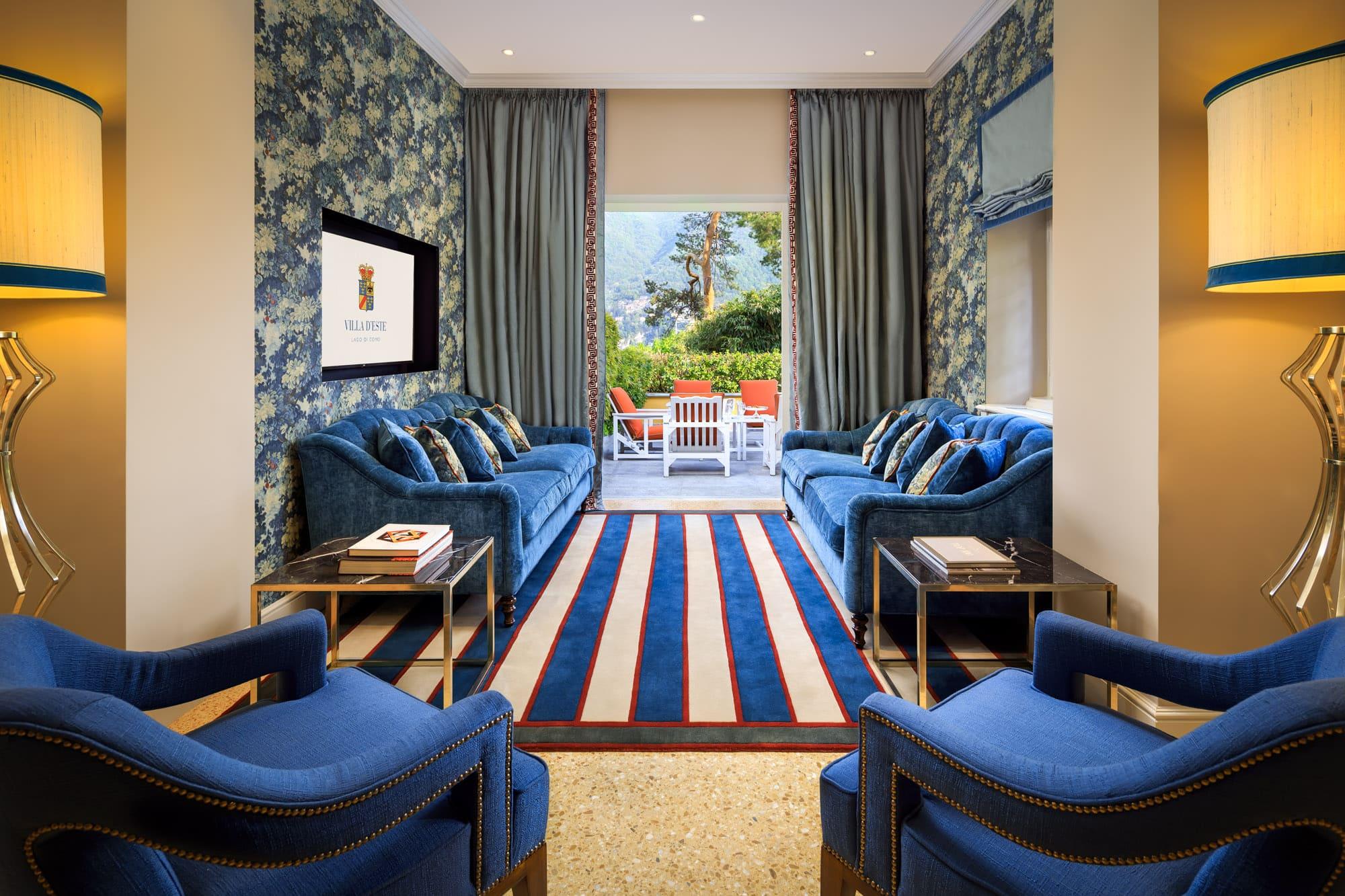 Villa Malakoff Sitting Room
